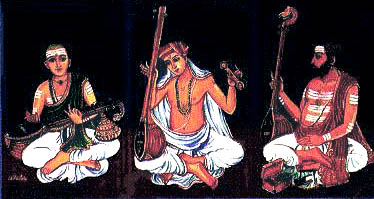 THE CARNATIC MUSIC TRINITY